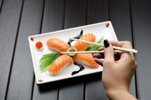 Increased fishing for sushi demand